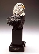 American Eagle Sculptures - American Pride by Mike Curtis