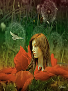 Julie  Grace - Among the Poppies