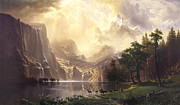 Albert Bierstadt - Among The Sierra Nevada...