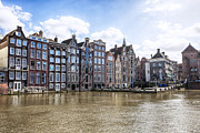 Dutch Framed Prints - Amsterdam Framed Print by Joana Kruse