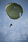 Featured Art - An Airman Descends Through The Sky by Stocktrek Images