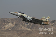 Military Strike Posters - An F-15i Raam Of The Israeli Air Force Poster by Ofer Zidon