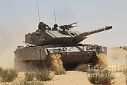 M60 Tank Prints - An Israel Defense Force Magach 7 Main Print by Ofer Zidon