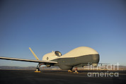 Global Hawk Prints - An Rq-4 Global Hawk Unmanned Aerial Print by Stocktrek Images
