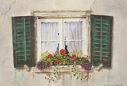 Mary Ellen  Mueller-Legault - Andermatt Window