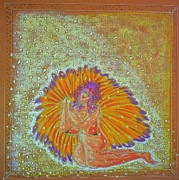 Featured Pastels - Angel Giving Thanks For the Manna by Lyn Blore Dufty