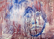 Iconic Paintings - Anguish by Errol  Jameson