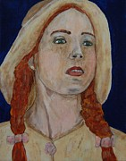 Shirley Paintings - Anne of Green Gables by Sylvia Luscombe