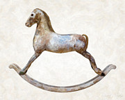 Single Object Photos - Antique Rocking Horse by Danny Smythe