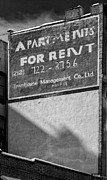 Signs - Apartment Rental Sign by Robert Ullmann