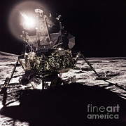 Apollo 17 Moon Landing Print by Science Source