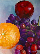 Pat Gerace - Apple Orange and Grapes