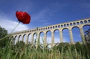 Aqueduct De Roquefavour Print by Sami Sarkis