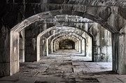 Tunnels Metal Prints - Arches  Metal Print by JC Findley