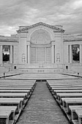 National Historic District Posters - Arlington Amphitheater Poster by Susan Candelario