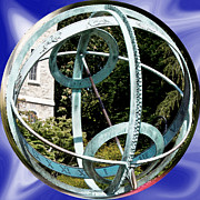 Psu Posters - Armillary Sphere Poster by Gallery Three