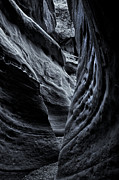 Desert Metal Prints - Around the Bend Metal Print by Mike  Dawson