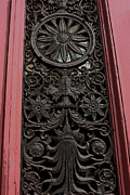 Handcarved Art - Art Nouveau Doorway by Alison Gunn