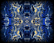 Vivid Metal Prints - Art Series 9 Metal Print by J D Owen