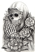 Praphavit Premtha - Art skull Day of the dead
