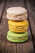 Background Art - Assorted macaroons vintage by Jane Rix