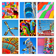 County Fair Posters - At the Fair Poster by Art Block Collections