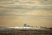 Elsa Marie Santoro - Atlantic City Skyline