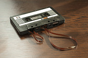 1980s Originals - Audio tape cassette with subtracted out tape by Deyan Georgiev