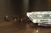 1980s Originals - Audio tape cassettes with subtracted out tape.  by Deyan Georgiev