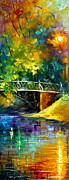 Original Oil Paintings - Aura of Autumn 3 by Leonid Afremov