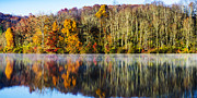 Thomas R Fletcher - Autumn Lake Panoramic