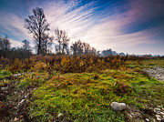 Landscapes Posters - Autumn morning Poster by Davorin Mance
