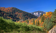 Romania Photo Originals - Autumn Mountain Landscape by Ioan Panaite
