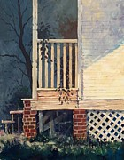 Oklahoma Prints - Back Porch Print by Micheal Jones