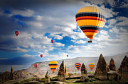 Historical Photo Originals - Ballons - 5 by Okan YILMAZ