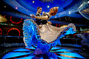 Adventure Of The Seas Photos - Ballroom Dancing Statue by Amy Cicconi