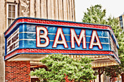 Tuscaloosa Photo Framed Prints - Bama Framed Print by Scott Pellegrin