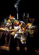 Heem Art - Banquet with oysters and fruit by Levin Rodriguez