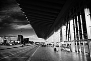 Air Travel Prints - Barcelona El Prat Airport Terminal 2 Catalonia Spain Print by Joe Fox