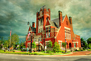 Brick Buildings Posters - Bardstown Kentucky Poster by Darren Fisher