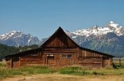 Dany Lison - Barn in Grand Teton
