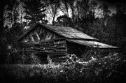 Dave Lyons - Barn in mountains of...