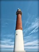Barnegat Lighthouse Framed Prints - Barnegat Lighthouse  Framed Print by Bill Cannon