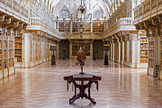 Famous Book Photos - Baroque Library  by Jose Elias - Sofia Pereira