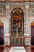Vicente Posters - Baroque Sacristy Poster by Lusoimages