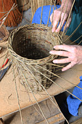 Baskets Photo Originals - Basket Making by Paul Felix