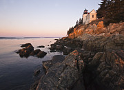 Bass Harbor Lighthouse Acadia National Park Print by Glenn Gordon