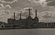Beatles Photos - Battersea Power Station by Maj Seda