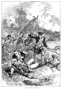Battle Of Bunker Hill, 1775 Print by Granger