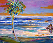 Ocean Paintings - Beach Color by Patricia Taylor